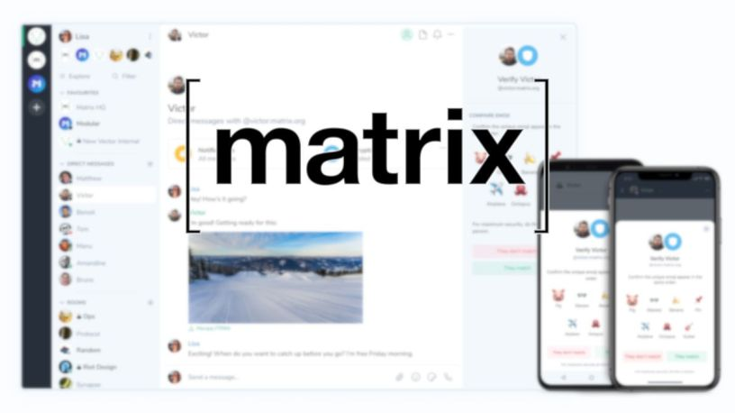 [ matrix ] - Συνδέστε όλα τα chat σας σε ένα