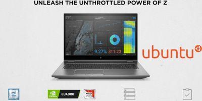 HP ZBook series θα είναι διαθέσιμο και με Ubuntu 20.04