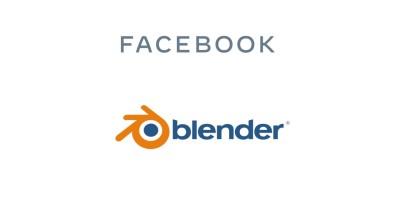 Η Facebook χρηματοδοτεί το Blender
