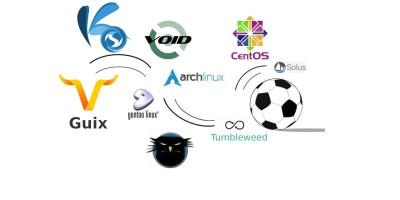Linux διανομές που είναι Rolling Release - κυλιόμενες