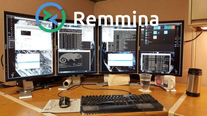 Remmina | Απομακρυσμένη επιφάνειας εργασίας