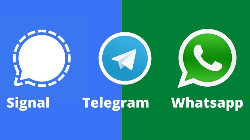 Signal vs Telegram και η φυγή των χρηστών από WhatsApp