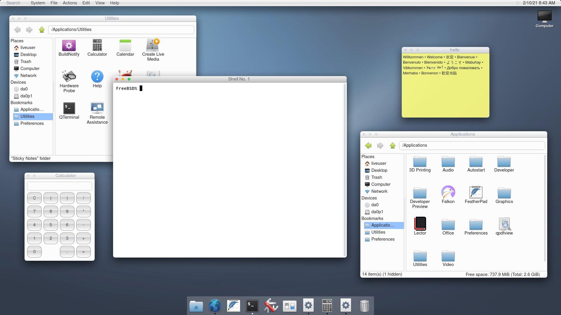 """Το helloSystem θέλει να γίνει το """"macOS των BSD"""""""