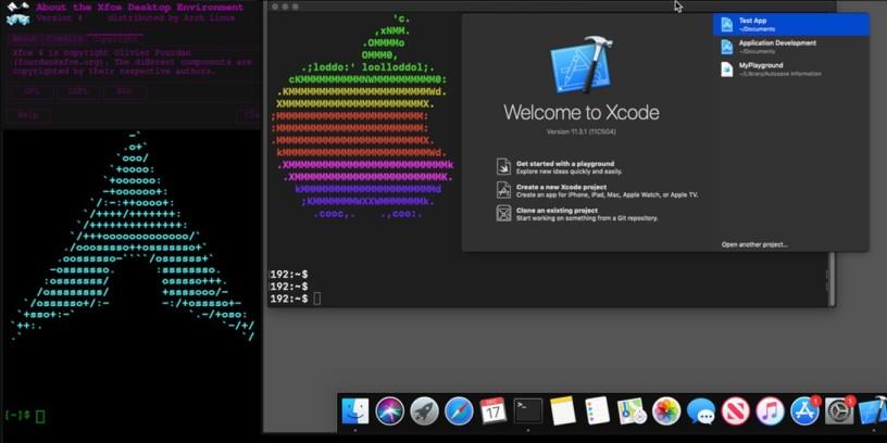 Εγκατάσταση macOS με το Docker-OSX