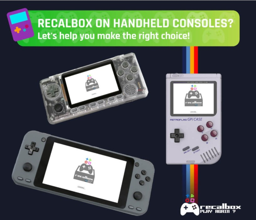 Recalbox + Odroid Go Advance | Retro gaming on-the-go όπου και αν είσαι!